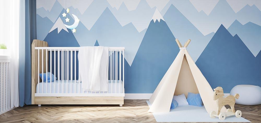 Chambre Theme Montagne : Idées de chambre pour bébé